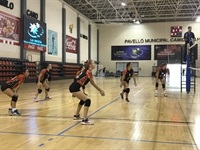 La Nucia CD voley inicio tempo 1 2018