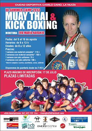 III Summer Camp Muay Thay y Kickboxing