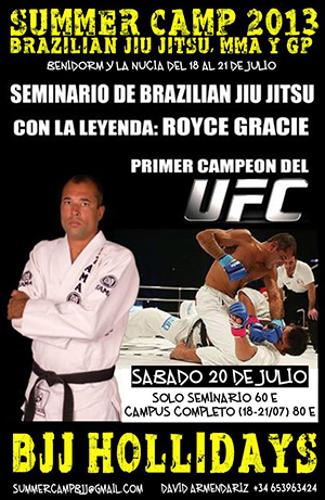 Summer Camp Brazilian Jiu Jitsu, MMA y GP