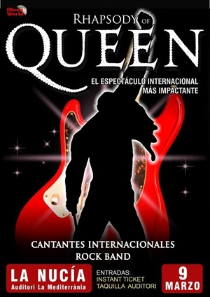 La Nucia Cartel Rhapsody Queen 2019