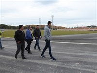 La Nucia Estadio Atlet Visita 1 abril 2019