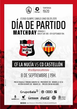 CF La Nucia vs Castellon Cartel 2019