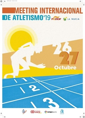 Cartel del Meeting de Atletismo Adaptado